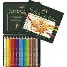 Faber Castell Polychromos 24 Parça Kuru Boya Seti
